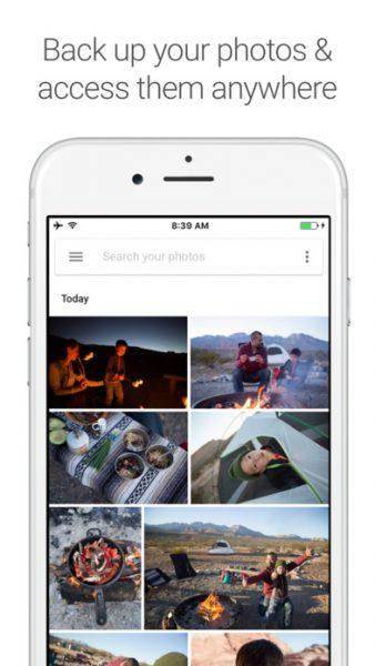 Google Photos for ios 338x600 - Tổng hợp 10 ứng dụng, game hay và miễn phí trên iOS ngày 10.3.2017
