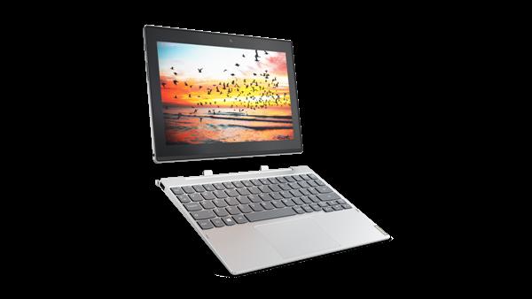 Miix320 silver 600x338 - MWC 2017: Lenovo Miix 320 có thể tháo rời với lựa chọn LTE siêu nhanh