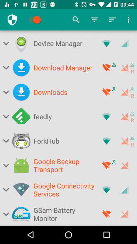 NetGuard 450x800 - Tổng hợp 8 ứng dụng hay và miễn phí trên Android ngày 25.03.2017