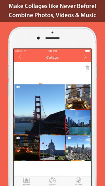 Photo Video Collage Maker Pro 338x600 - Tổng hợp 21 ứng dụng hay và miễn phí trên iOS ngày 31.3.2017