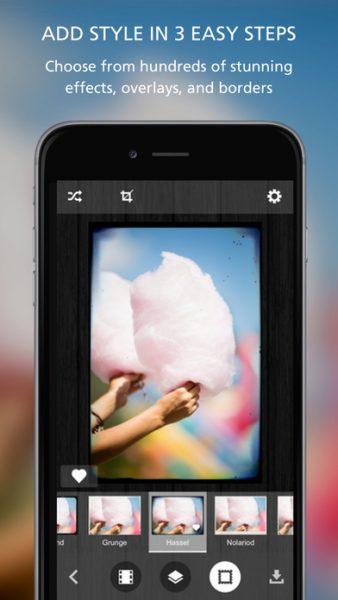 Pixlr o matic for ios 338x600 - Tổng hợp 10 ứng dụng, game hay và miễn phí trên iOS ngày 10.3.2017