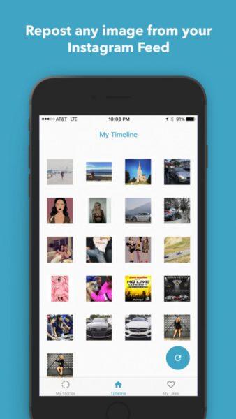 Repost and Save for Instagram for ios 338x600 - Tổng hợp 18 ứng dụng hay và miễn phí trên iOS ngày 1.4.2017