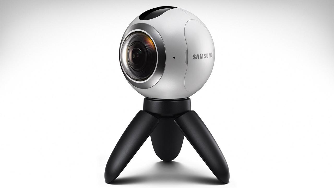 Samsung Gear 360 - Giá Samsung Gear 360 được giảm 50% cho khách mua Galaxy S7/ S7 Edge tại Viễn thông A