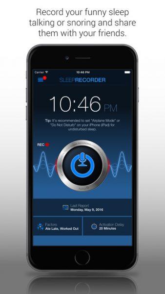 Sleep Talk Snoring Recorder for ios 338x600 - Tổng hợp 20 ứng dụng hay và miễn phí trên iOS ngày 28.3.2017