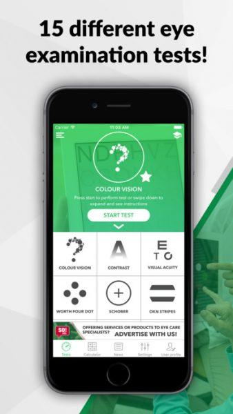 Smart Optometry for ios 338x600 - Tổng hợp 11 ứng dụng hay và miễn phí trên iOS ngày 19.3.2017