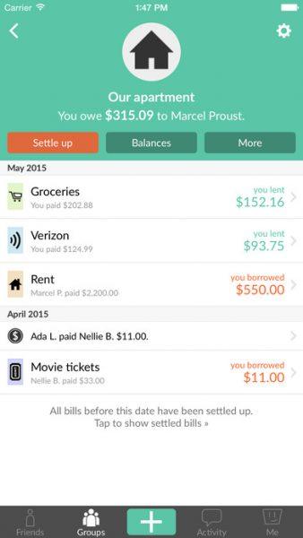 Splitwise for ios 338x600 - Tổng hợp 17 ứng dụng hay và miễn phí trên iOS ngày 29.3.2017