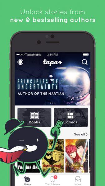 Tapas for ios 338x600 - Tổng hợp 10 ứng dụng hay và miễn phí trên iOS ngày 20.3.2017