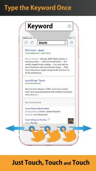 Touch Search Free for ios 338x600 - Tổng hợp 20 ứng dụng hay và miễn phí trên iOS ngày 30.3.2017