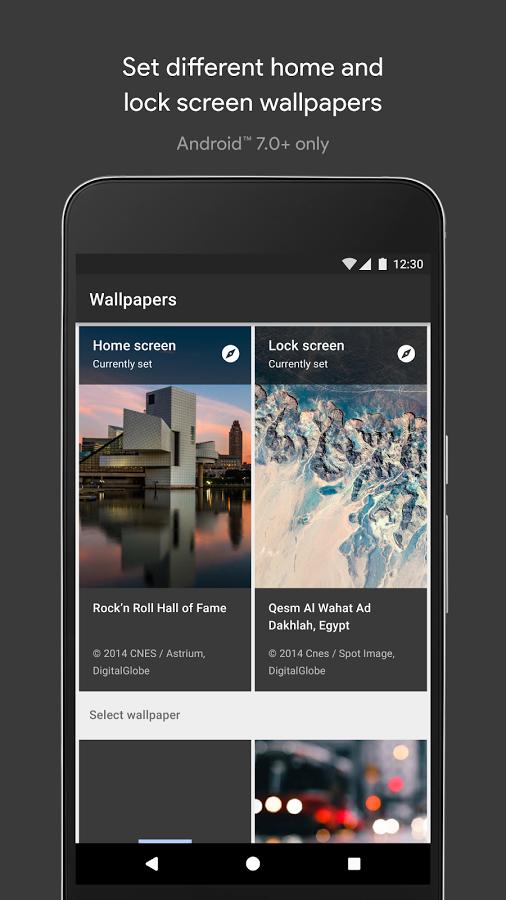 Wallpapers - Top 5 ứng dụng đổi ảnh nền miễn phí cho Android