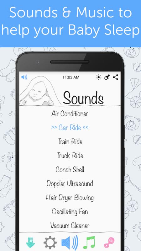 White Noise Baby 450x800 - Tổng hợp 8 ứng dụng hay và miễn phí trên Android ngày 15.03.2017