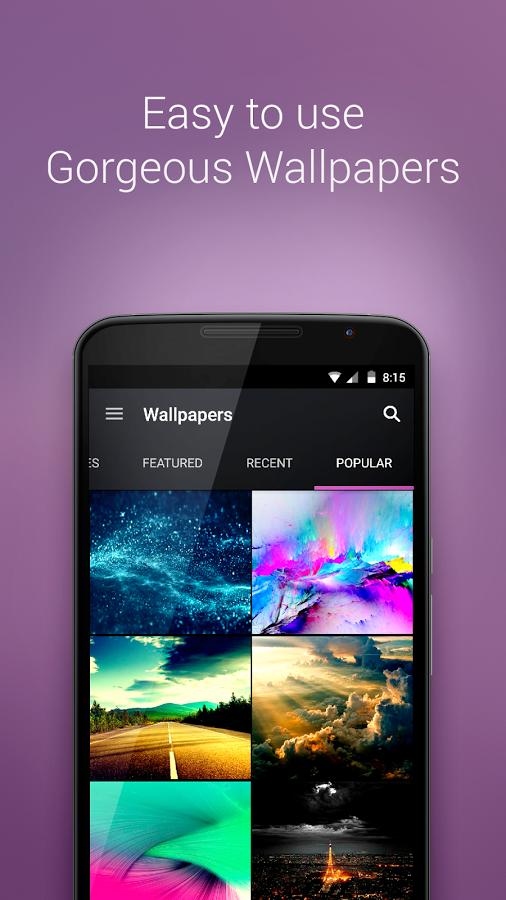 Zedge - Top 5 ứng dụng đổi ảnh nền miễn phí cho Android