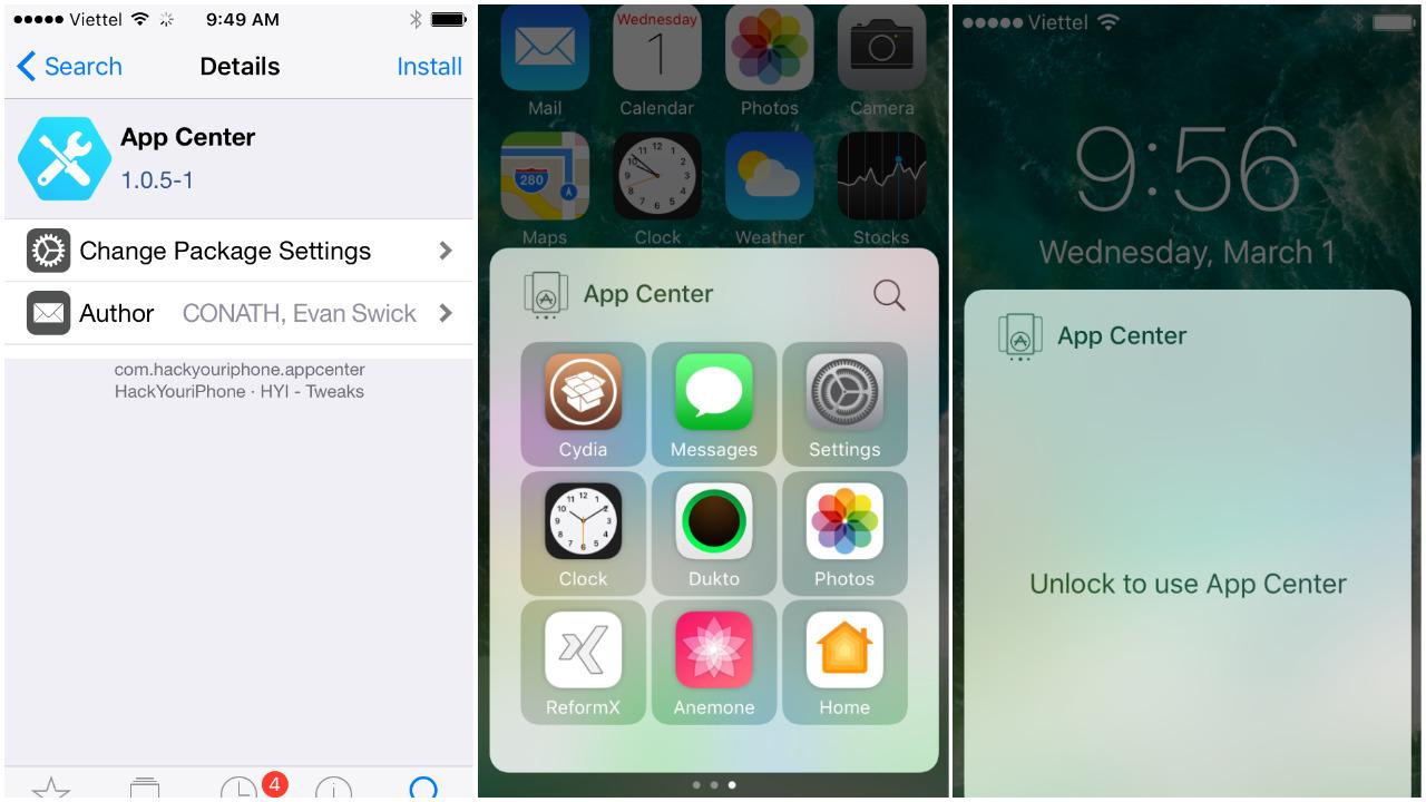 app center cho ios 10 featured - Cách truy cập nhanh các ứng dụng trên iPhone chạy iOS 10