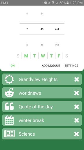 clockwise alarm - Tổng hợp 8 ứng dụng hay và miễn phí trên Android ngày 11.03.2017