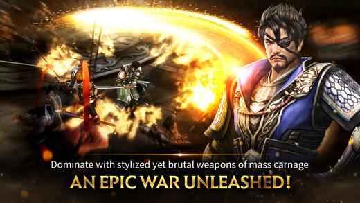 Dynasty Warriors: Unleashed đã cho cho iPhone, phải đổi store để chơi 3