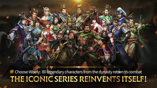 Dynasty Warriors: Unleashed đã cho cho iPhone, phải đổi store để chơi 5