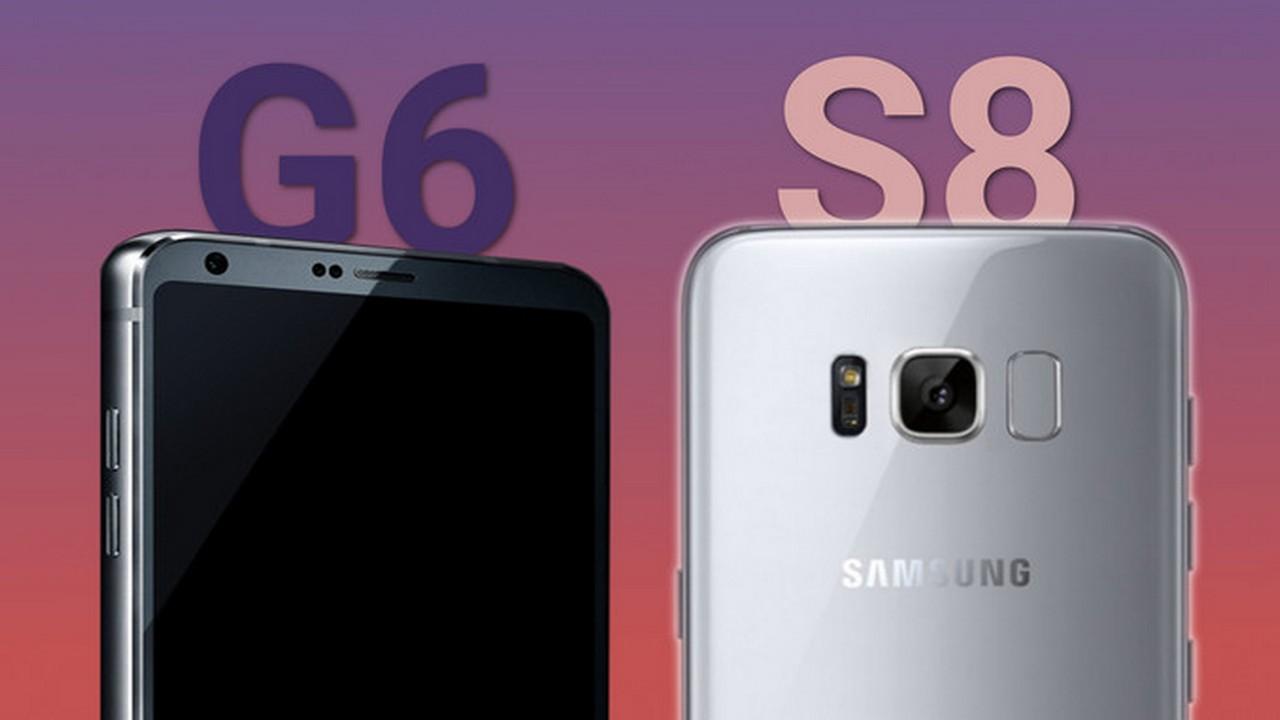 Galaxy S8 vs LG G6 - ai là ông vua xứ Hàn