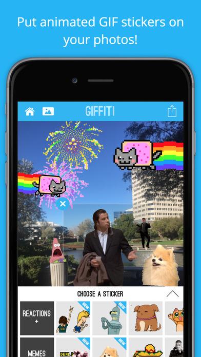 giffiti ios - Tổng hợp 10 ứng dụng, game hay và miễn phí trên iOS ngày 10.3.2017