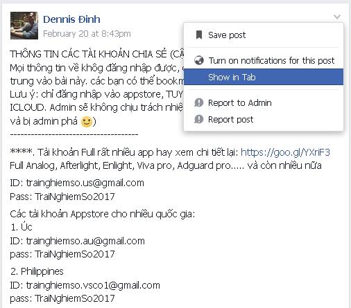 image005 1 - Facebook trên web đã cho phép đặt màu nền, xem bài đăng dạng thẻ