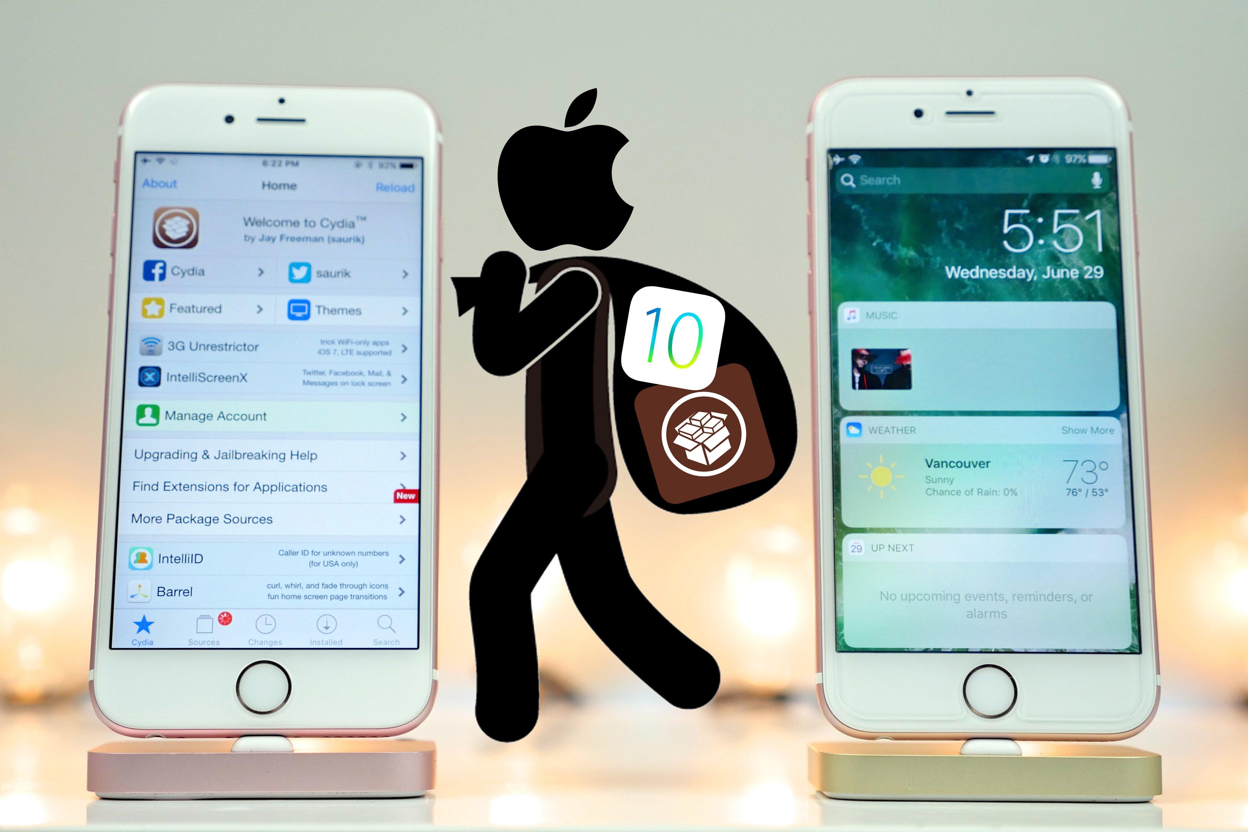 jailbreak ios 10 featured - Tweak hay cho iOS 10: Camera Tweak 4, Enable Ethernet, SiriSpotlight,...