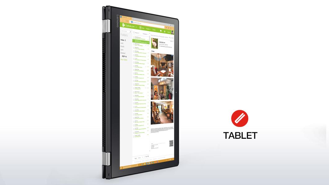 lenovo laptop yoga 510 15 tablet mode 2 - Lenovo Yoga 510 lên kệ, giá khởi điểm 13,8 triệu đồng