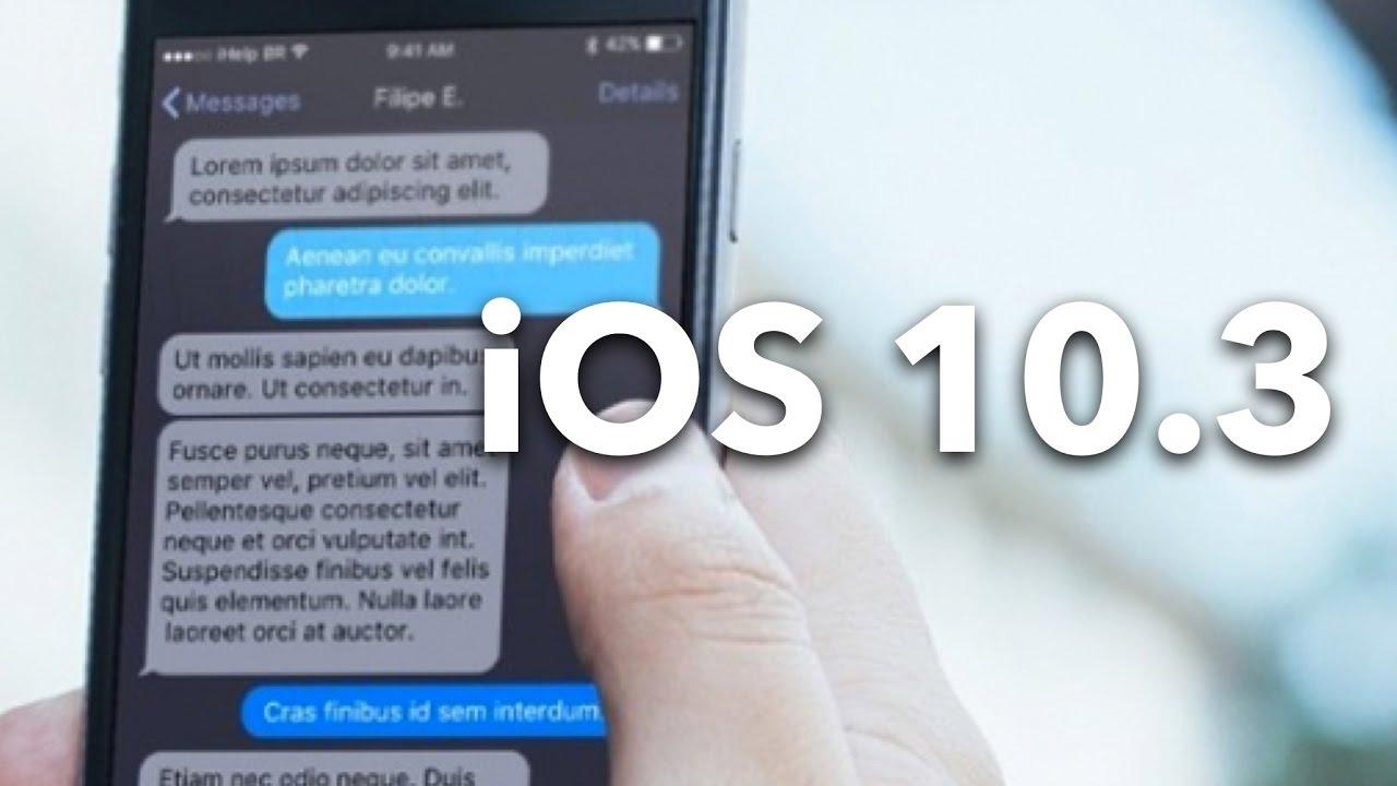 maxresdefault 3 - Apple chính thức ra mắt iOS 10.3: định dạng file system APFS mới.
