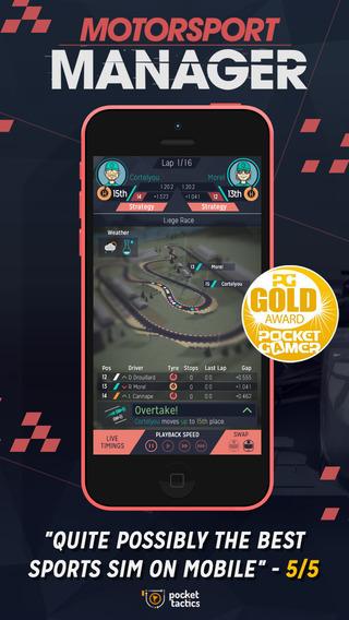 motorsport manager ios - Tổng hợp 9 ứng dụng, game hay và miễn phí trên iOS ngày 06.3.2017