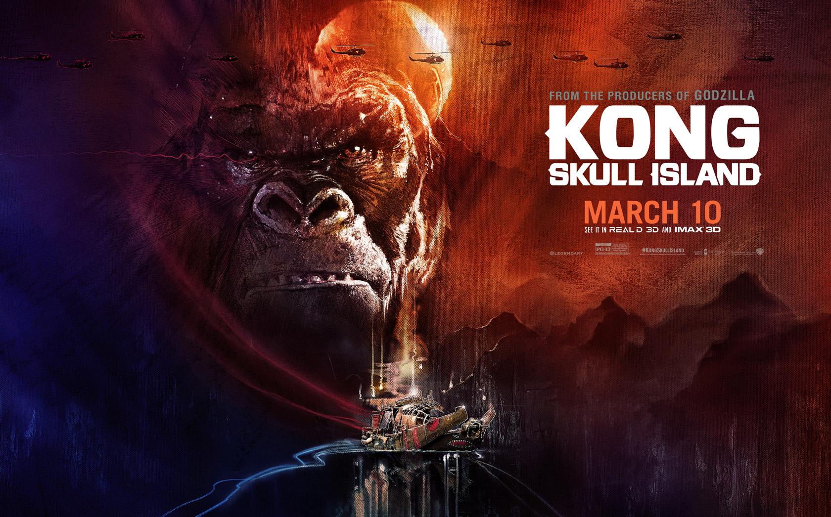 """new kong art - Mời tải về theme Kong: Skull Island """"chính chủ"""" dành cho thiết bị Xperia"""