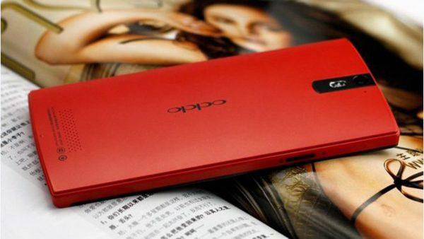 oppo find 5 mau do 600x338 - 7 smartphone màu đỏ đẹp long lanh không thua iPhone 7