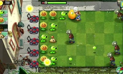 plant vs zombie 1 featured 400x240 - Top 5 game cũ mà hay {24.3}: Road Rash, Plants vs Zombies, Limbo…