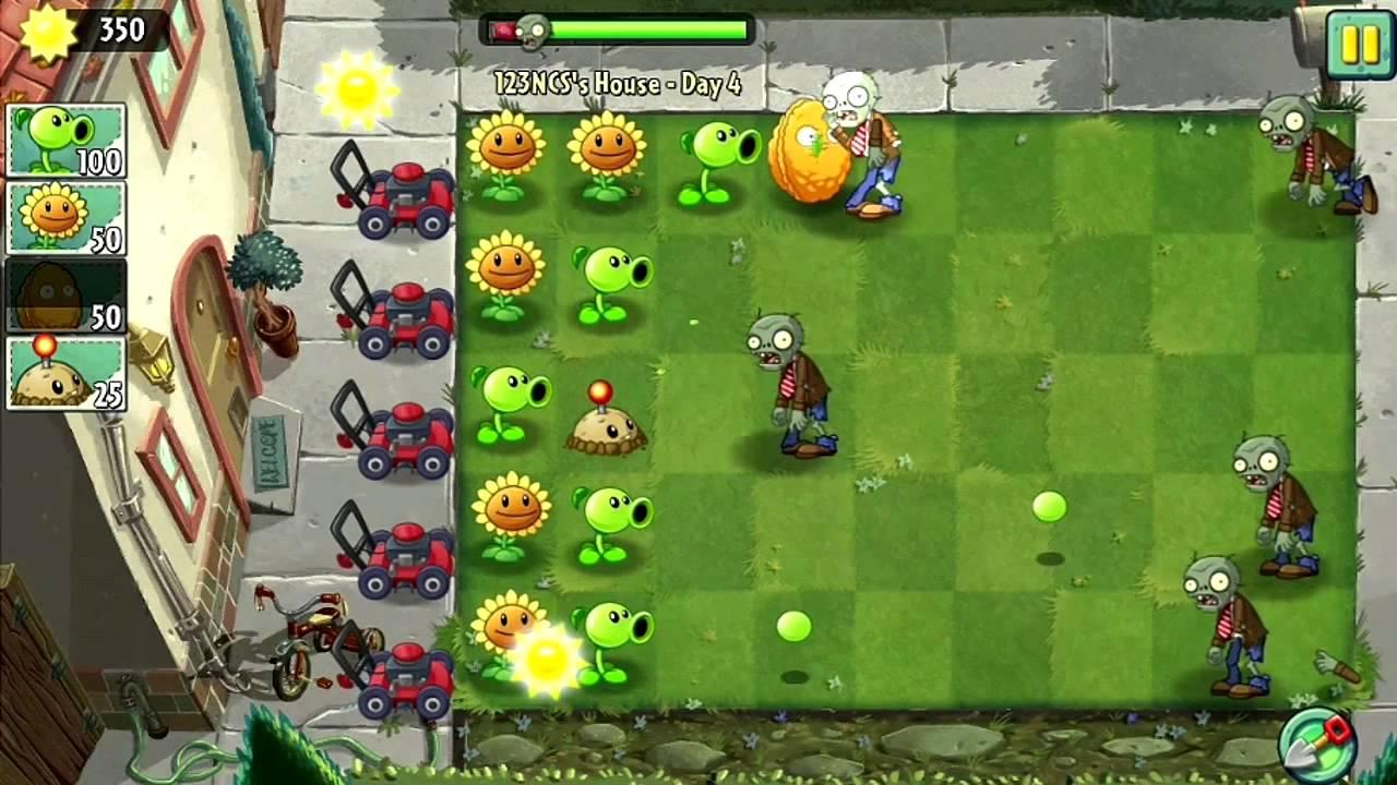 plant vs zombie 1 featured - Top 5 game cũ mà hay {24.3}: Road Rash, Plants vs Zombies, Limbo…
