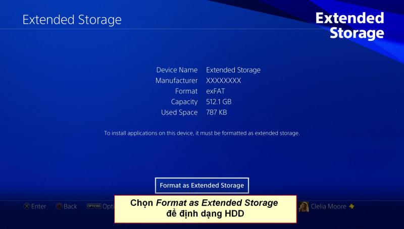 playstation 4 extended storage 3 vn 800x454 - Hướng dẫn di chuyển game qua ổ cứng ngoài trên Playstation 4 firmware 4.5