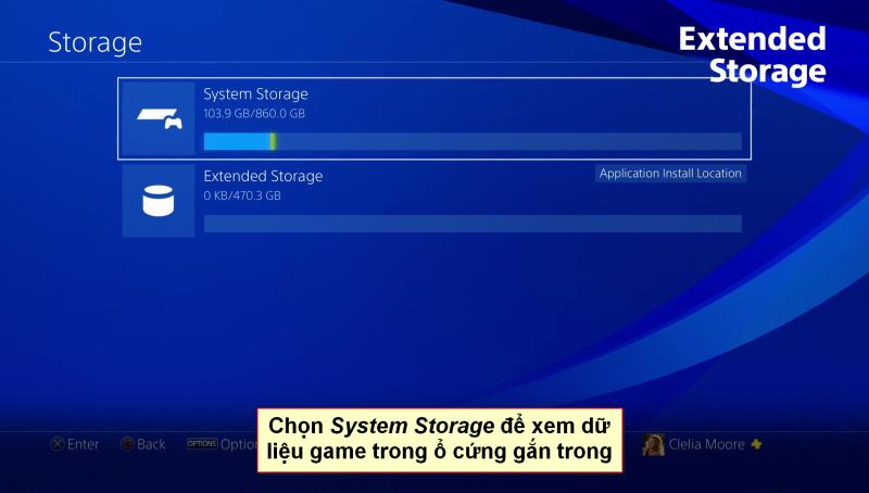 playstation 4 extended storage 4 vn 800x454 - Hướng dẫn di chuyển game qua ổ cứng ngoài trên Playstation 4 firmware 4.5