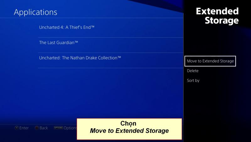 playstation 4 extended storage 5 vn 800x454 - Hướng dẫn di chuyển game qua ổ cứng ngoài trên Playstation 4 firmware 4.5