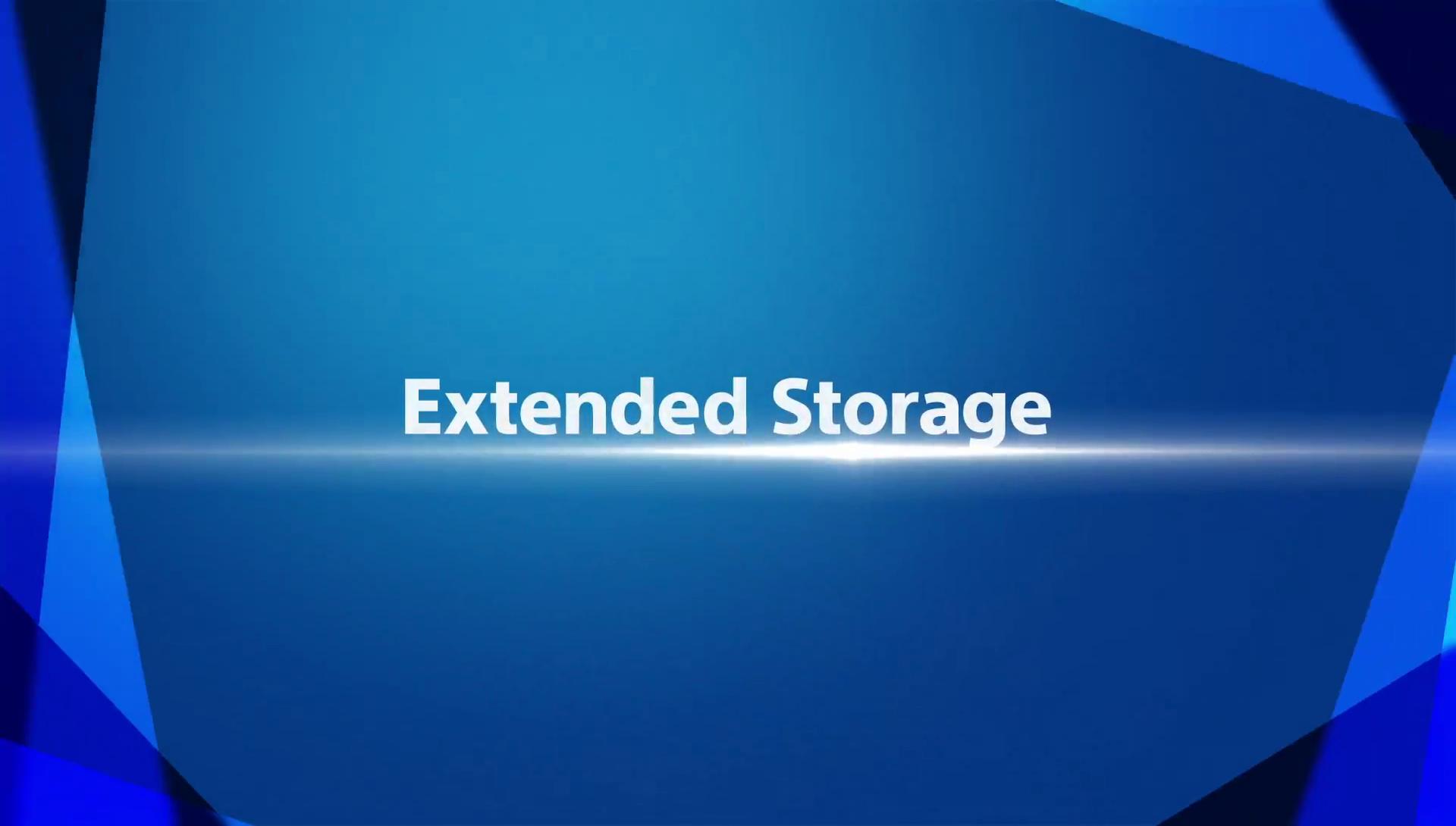 playstation 4 extended storage featured - Hướng dẫn di chuyển game qua ổ cứng ngoài trên Playstation 4 firmware 4.5