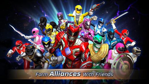 """power rangers legacy wars 3 - Đã có game """"Năm Anh Em Siêu Nhân"""" trên di động, cài chơi được"""