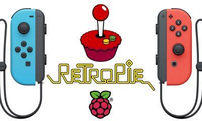 retropie nintendo joycon featured 400x240 - Tay cầm Nintendo Joycon còn tương thích với Raspberry Pi