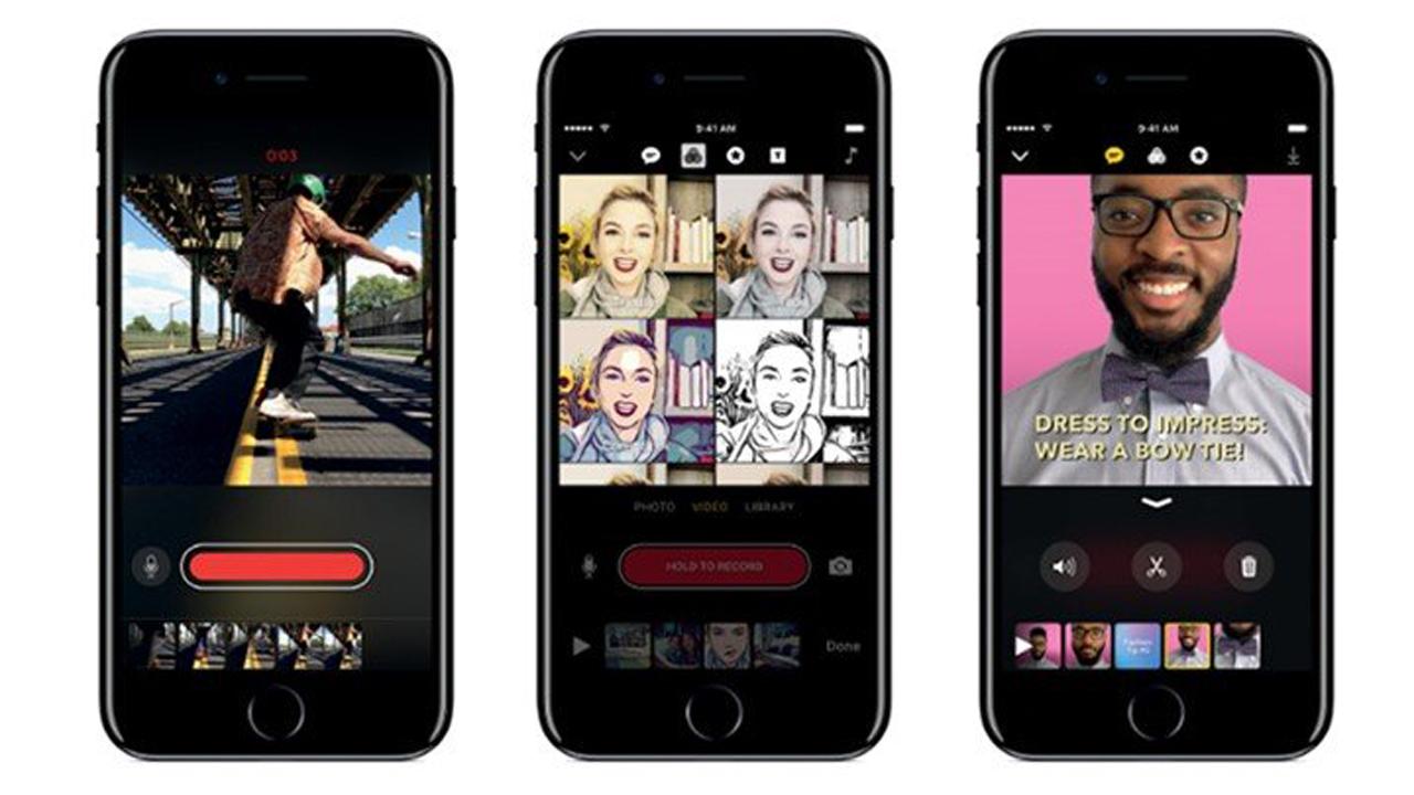 ung dung tao video appleclips - Clips - Ứng dụng tạo video độc đáovừa được Apple ra mắt