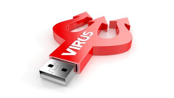 virus usb drive 600x338 - Virus USB phát tán mạnh