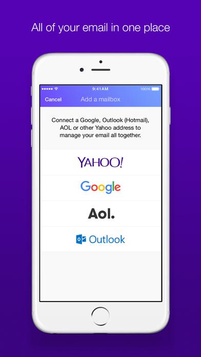 yahoo mail ios - Tổng hợp 11 ứng dụng hay và miễn phí trên iOS ngày 11.3.2017
