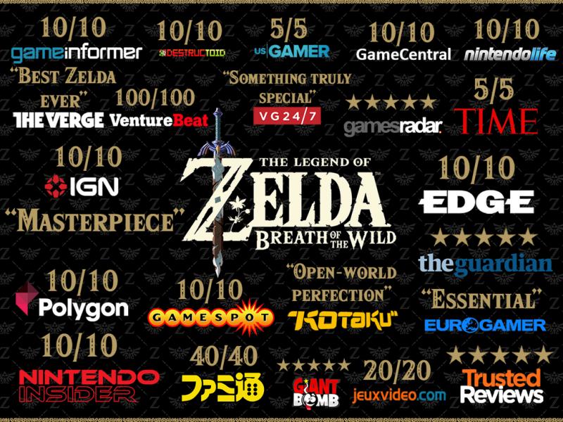 The Legend of Zelda: Breath of the Wild là game hay thứ hai mọi thời đại 3