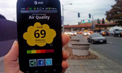 o chất lượng không khí 400x240 - Kiểm tra chất lượng không khí môi trường bằng điện thoại