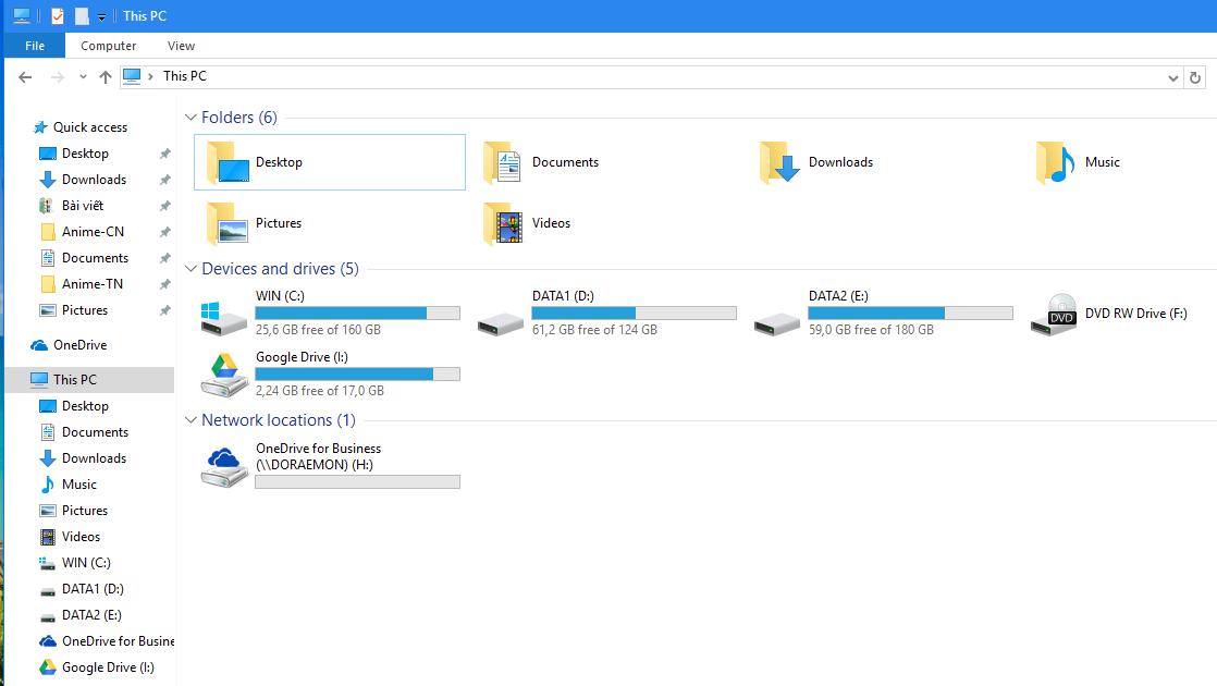 Mang 21 TB dung lượng OneDrive vào PC