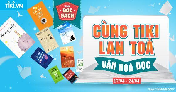 """Cung Tiki lan toa Van hoa doc 1 600x315 - Tiki.vn phát động chương trình """"Cùng Tiki lan tỏa văn hóa đọc"""" trong suốt tháng 4"""