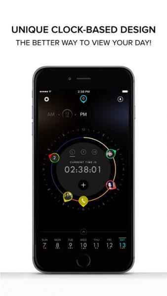 Dials Calendar for ios 338x600 - Tổng hợp 20 ứng dụng hay và miễn phí trên iOS ngày 22.4.2017 (phần 2)