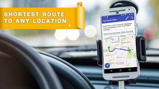 GPS Route finder maps for android - Tổng hợp 5 ứng dụng hay và miễn phí trên Android ngày 08.4.2017