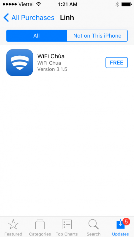 Cách cài ứng dụng bản quyền iOS được chia sẻ bởi Trải Nghiệm Số 18