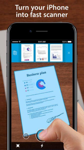 One Scanner for ios 338x600 - Tổng hợp 19 ứng dụng hay và miễn phí trên iOS ngày 2.4.2017 (phần 2)