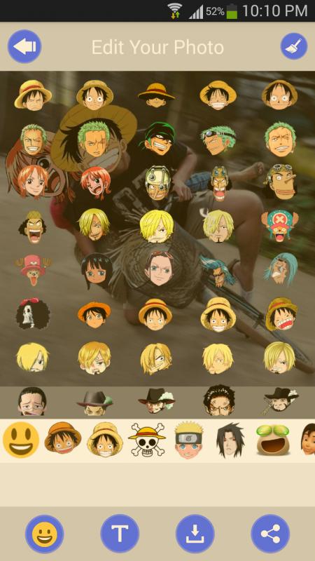 Screenshot 2017 04 10 22 10 46 450x800 - Ghép mặt hoạt hình vui nhộn với Anime Face Changer Pro