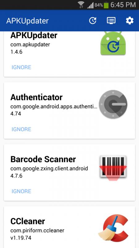Screenshot 2017 04 24 18 45 36 450x800 - Tìm, cập nhật phiên bản mới cho app cài đặt thủ công