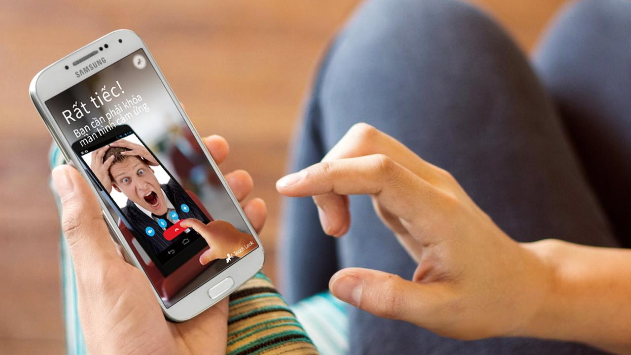 Touch Lock Featured - Khóa cảm ứng, phím cứng smartphone không cho trẻ quấy phá